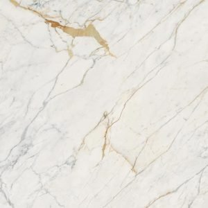 Marble Look Golden White